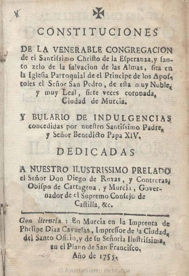 Encabezamiento de las Constituciones