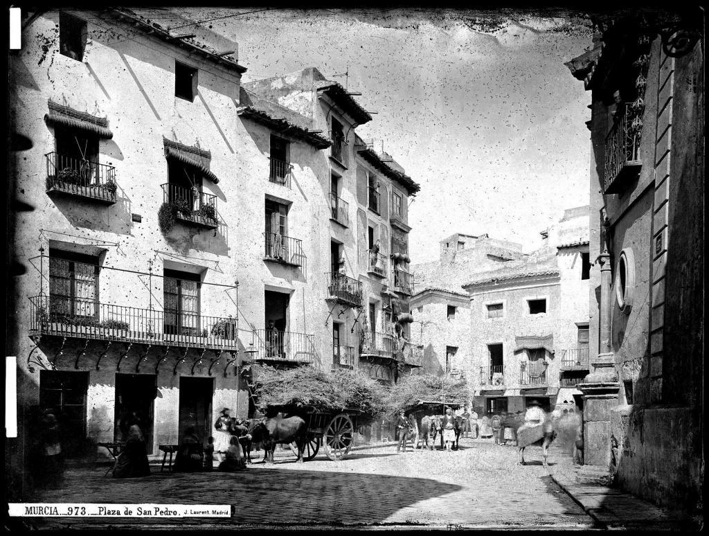 Plaza de S Pedro S XIX