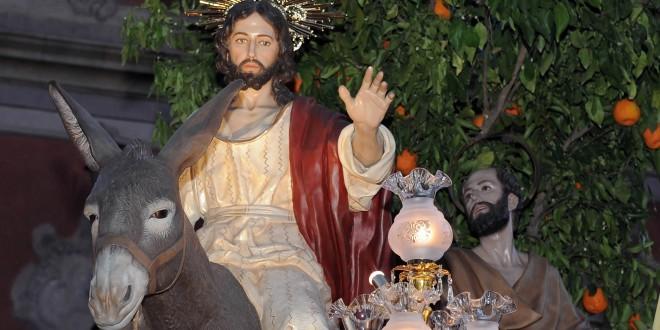 Entrada de Jesús en Jerusalén